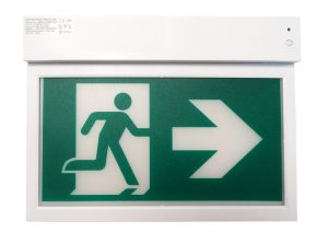LED Einzelbatterie-Nothinweisleuchte - Indoor Nothinweisleuchte